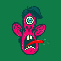 Frightened Cyclops T-shirt by Artistic Dyslexia. On sale for the first 72 hours! artisticdyslexia.com Also available in Adult and Children's Apparel and Prints!
