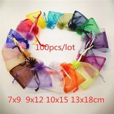 Cheap Jewelry Packaging & Display, Buy Quality Jewelry & Accessories Directly from China Suppliers:100pcs Drawstring Organza Bags 7x9 9x12 10x15 13x18 Jewelry Pouches Jewelry Packaging Bag Jewellery Bag Organza Jewelry Bags Enjoy ✓Free Shipping Worldwide! ✓Limited Time Sale ✓Easy Return. Cheap Jewelry, Jewelry Accessories, Jewelry Pouches, Drawstring Pouch, Christmas Bags, Organza Gift Bags, Jewelry Packaging, Wedding Events, Weddings