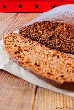 Zdrowy piernik bez cukru. Healthy clean eating gingerbread  cake