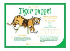 Make this printable Chinese New Year Tiger craft puppet activity for children. Find lots of Chinese New Year craft activities at iChild. Chinese New Year Activities, Chinese New Year Crafts, New Years Activities, Craft Activities, Tiger Crafts, Puppet Crafts, New Year's Crafts, Puppets, Free Printables