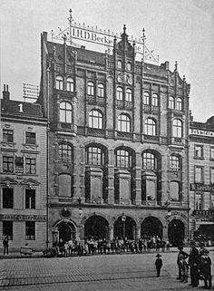 Krausenstraße 71.. Geschafthaus.. 1890