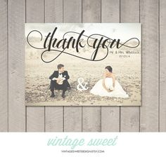 THIS LISTING INCLUDES: One or Two Sided Thank You Card. The $12 fee covers the design of the card, as well as the printable high resolution