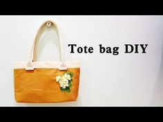 Super simple and easy Tote bag Tutorial | Sewing for Beginners❤❤ - YouTube