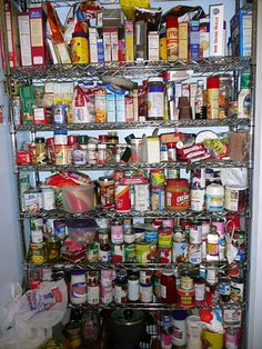 Research shows that when you are hungry and looking for food you are most likely to eat the first thing you see once you open the pantry or fridge. Try putting the most healthy things at eye level Kitchen Organization Pantry, Kitchen Pantry, Organized Pantry, Pantry Ideas, Today Pictures, Pantry Design, Modern Kitchen Design, Kitchen Designs, Camping Essentials