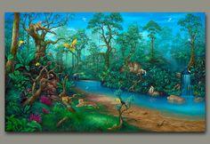 Rainforest Painting