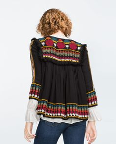 EMBROIDERED JACKET-Jackets-WOMAN-SALE | ZARA United States