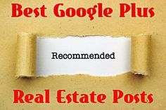 Best #GooglePlus #RealEstate Articles May 2014:  http://massrealestatenews.com/best-google-plus-real-estate-articles-may-2014/