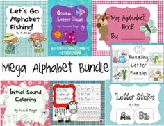 Amazing Alphabet Pack! Enter for your chance to win. Mega Alphabet Bundle  (176 pages) from AJ Bergs on TeachersNotebook.com (Ends on on 11-05-2016) This is a letteriffic giveaway!!!.
