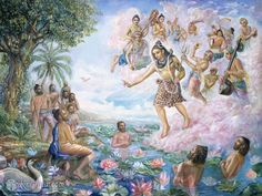 Lord Shiva Appears To The Sages