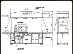 Medium Coffee Cart 2 Source by Skeandr… Small Coffee Shop, Coffee Store, Coffee Carts, Coffee Truck, Mobile Coffee Cart, Container Coffee Shop, Coffee Trailer, Coffee Bar Design, Coffee Van