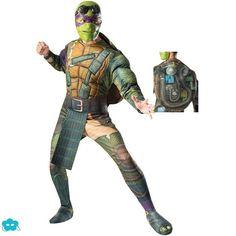 Disfraz de Donnie tortugas Ninja Movie para hombre