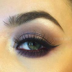 Instagram photo by @makeupchelsea via ink361.com Mac Eyeshadow Looks, Kiss Makeup, Mauve, Chelsea, Make Up, Instagram Posts, Makeup, Beauty Makeup, Bronzer Makeup