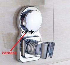 Hidden Camera for Bathroom Waterproof Spy shower rack camera with SD Card Techno Gadgets, Spy Gadgets, Cool Gadgets, Spy Camera Bathroom, Spy Shop, Shower Rack, Smart Home Design, Hidden Spy Camera, Recording Equipment