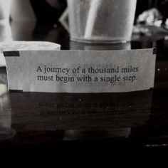 Fortune Cookie Quote.