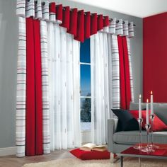 When it reaches to room furnishings thoughts, a couple of things acquire heart stage. Curtain Designs For Bedroom, Latest Curtain Designs, Window Curtain Designs, Bedroom Bed Design, Living Room Decor Curtains, Living Room Decor Country, Home Curtains, Curtains With Blinds, Green Curtains