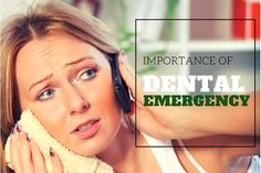 Importance of teeth is not until one has to stop eating their favorite ice cream or chocolate because of their damaged teeth. #Damagedteeth also cause pain that is unbearable at times. The dentist is the only one who can resolve the problem of tooth. #Emergencydental services for #dentistry are also now available.