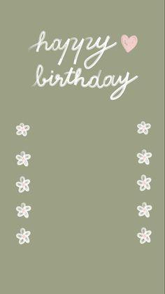 Happy Birthday Posters, Happy Birthday Frame, Happy Birthday Wallpaper, Birthday Posts, Instagram And Snapchat, Instagram Blog, Instagram Story Ideas, Photo Instagram, Birthday Captions Instagram