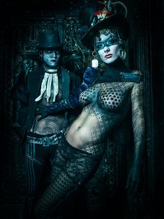 Portraits of Underground Cirque Troupe Lucent Dossier - Feature Shoot