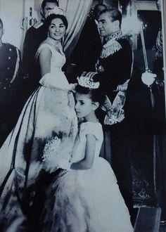 The wedding of Mohammad-Reza Shah and Farah Diba of Iran.