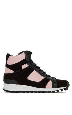 Trance High Top Sneaker In Bubblegum by 3.1 Phillip Lim for Preorder on Moda Operandi