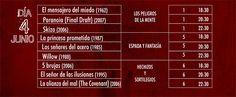 Noche y Día Gran Canaria: Cine - 04/06: Programación de Sobresaltos en Multicines Monopol