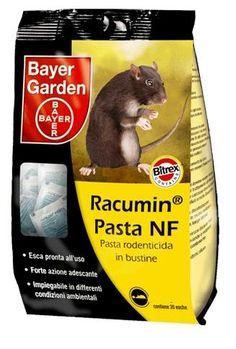 BAYER RACUMIN NF PASTA ESCA PER TOPI E RATTI GR. 300 https://www.chiaradecaria.it/it/topicidi-bayer/1235-bayer-racumin-nf-pasta-esca-per-topi-e-ratti-gr-300-8000560150032.html