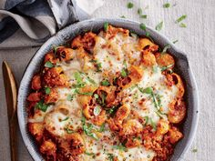 This quick and easy recipe delivers a family-friendly dinner to the table in just45 minutes. View Recipe: Ground Beef and Pasta Casserole