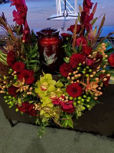 Custom Memorial Wreath for Cremation Las Vegas