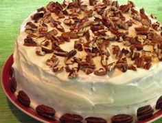 #GlutenFree Carrot Cake with Cream Cheese Icing
