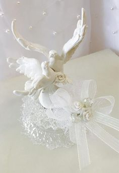 Dove Wedding Cake Toppers | Wedding Cake Topper | Pinterest | Cake ...