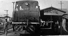 A Estação Vila Galvão entre as décadas de 40 e 50