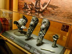 Gladiator Helmet, Shin Guards and Bronze Spear | by paulhall