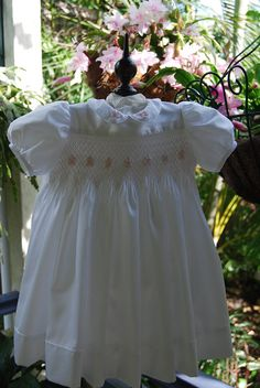 April Rose  A Hand Smocked Baby Girl's Dress  by myheavenlydesigns, $150.00
