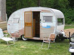 vintage travel trailer