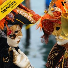 #SignatureHolidays:The Venice Carnival is the most internationally known festival celebrated in Venice, #Italy, as well as being one of the oldest. The masks are an irresistible attraction for what is undoubtedly one of the world's most unique experiences.