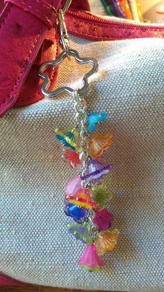 Beaded Purse Charm / Keychain / Wallet Charm / by moonietricks, $15.00