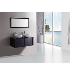 Meuble de salle de bain ALCARAZ noir