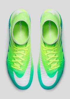 check out b6aea 0ae29  blue  green  yellowaesthetic  nike  shoes Soccer Boots, Soccer Gear,