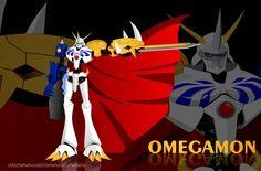 .: OMEGAMON :. by oddzoddy.deviantart.com Digimon, Sonic The Hedgehog, Deviantart, Artwork, Fictional Characters, Work Of Art