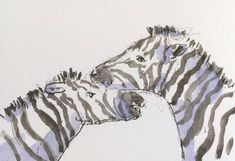 Zebra ORIGINAL Miniature Watercolour ACEO 'Games' view here: https://www.etsy.com/uk/listing/586612309/zebra-original-miniature-watercolour?ref=shop_home_active_1