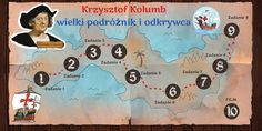 Krzysztof Kolumb wielki podróżnik i odkrywca by Paulina on Genial. Homeschooling, Hand Lettering, Education, Geography, Historia, Handwriting, Onderwijs, Calligraphy, Learning
