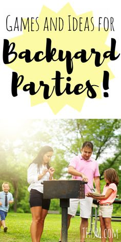 backyard cookout party games ideas free frugal diy