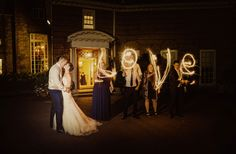 country house wedding photography – country garden wedding photography - tom halliday photography - uk wedding photography - landscape photography - night time photography - kiss photography