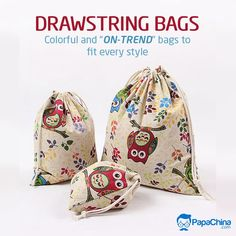 Colorful & ON-TREND bags to fit every style. #bags #drawstringbag #versatile #backpacks #wholesale #promotion #Marketing #Giveaways #Trending #gifts #giftideas Promotional Bags, Picnic Bag, Wholesale Bags, Luggage Bags, Drawstring Backpack, Backpacks, Tote Bag, Gifts, Color