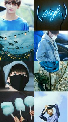 Taehyung blue aesthetic wallpaper 55 new ideas<br> Bts Taehyung, Jungkook Jimin, Bts Bangtan Boy, Daegu, K Pop, Bts Pictures, Photos, V Bts Wallpaper, Vkook