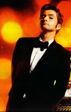 I love men in suits... especially if they are David Tennant