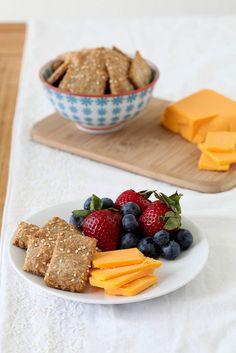Multigrain Crackers | Annie's Eats