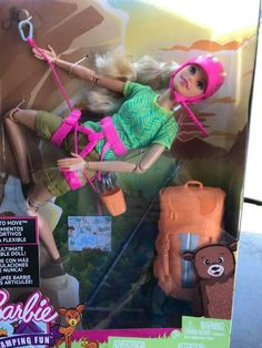 Ken Doll: Barbie Made To Move/Camping Fun & Careers 2017
