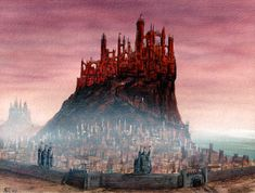 """King's Landing by Franz Miklis. """"Look around you.... They're all liars here... and every one better than you."""""""