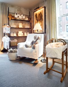 rh chicago: the gallery at the 3 arts club Baby Boy Rooms, Baby Bedroom, Baby Boy Nurseries, Baby Room Decor, Nursery Room, Girls Bedroom, Modern Nurseries, Baby Furniture, Children Furniture